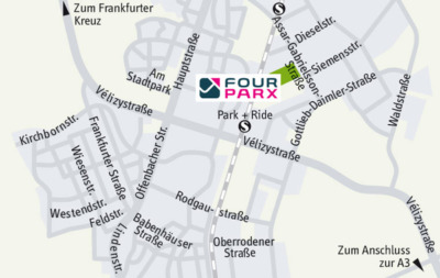 Rhine-Main Logistics Property | FOUR PARX Dietzenbach