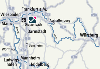 Rhine-Main Logistics hub in Europe | FOUR PARX Dietzenbach